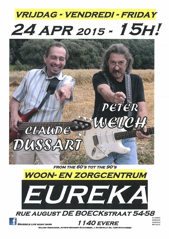 2015 04 24 Claude Dussart Peter Welch