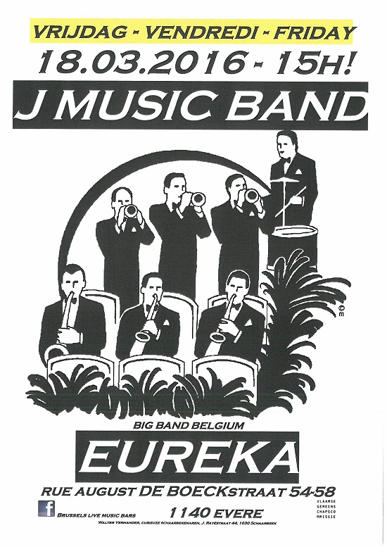 2016 03 18 J MUSIC BAND Eureka
